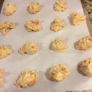 carrots ready to bake